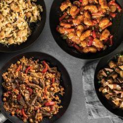 4 Skillet Meals + Free Skillet