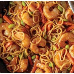 Skillet Meal: Honey Garlic Shrimp