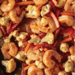 Skillet Meal: Red Curry Coconut Shrimp