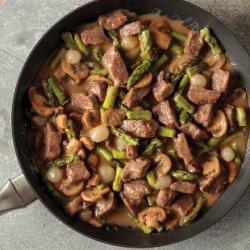 Skillet Meal: Steak Diane