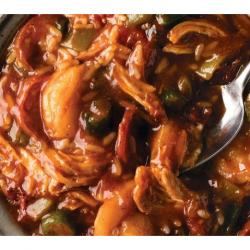 Slow Cooker Meal: Jambalaya and Rice