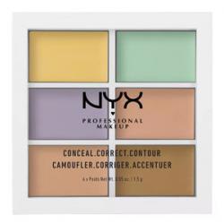 NYX Professional Makeup Color Correcting Concealer Pallete0.05 oz.