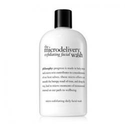 The microdelivery daily exfoliating facial wash