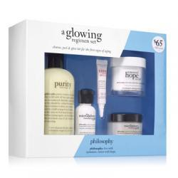 A glowing regimen set