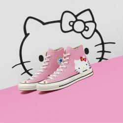 低至5折,Converse x Hello Kitty 合作係列,服飾鞋履全都有 @Nike