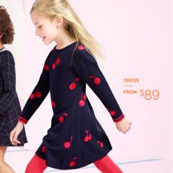 Dresses for Back to School from $89 @ Jacadi Paris