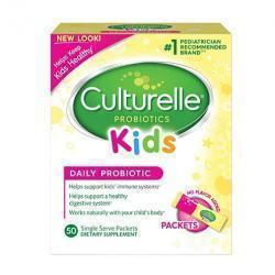 15% off Culturelle Kids & Baby Daily Probiotic Packets Dietary Supplement @ Amazon