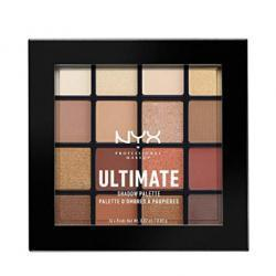 NYX PROFESSIONAL MAKEUP Ultimate Shadow Palette, Warm Neutrals @ Amazon