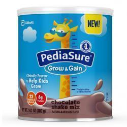 Back Again ! PediaSure Grow & Gain Non-GMO Vanilla Shake Mix Powder @ Amazon