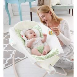 【Amazon】精选 Fisher-Price 费雪婴幼儿安抚摇床、弹跳床等低至 $30.19