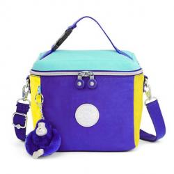 Color Blocked Lunch Bag