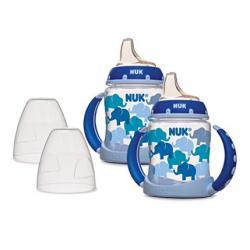 NUK Learner 2-Piece Cup, Blue