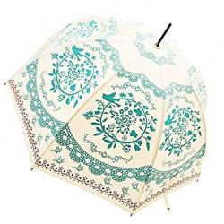Bubble Windproof Umbrella, Rain UV Protection, Flower Totem Print, lightweight, Easy Open Close