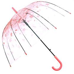 Kung Fu Smith Clear Bubble Dome Umbrella for Kids Girls and Boys