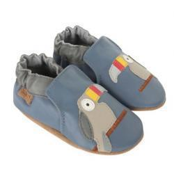 Toucan Tom 아기 신발, 소프트 발바닥