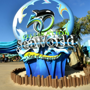 FREE child ticket (ages 3-9) to SeaWorld San Diego, save up to $84.99 @SeaWorld