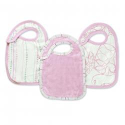 tranquility silky soft snap bib 3-pack