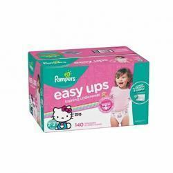 Pampers Easy Ups女宝宝训练裤 Size 4 (2T-3T), 140片