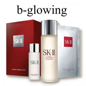 B-Glowing 美國官網 美妝護膚熱賣,超值SK-II青春露套裝僅$79.2