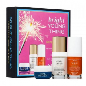 SUNDAY RILEY Bright Young Thing Visible Skin Brightening Kit ($117 VALUE)