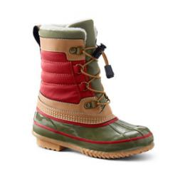 Kids Lined Winter Duck Boots