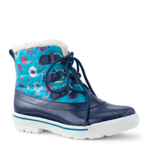Girls Quilted Duck Boots
