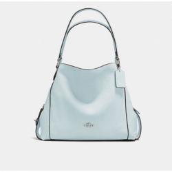 Edie Shoulder Bag 31 Sky/Silver