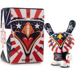 """INDIE EAGLE 3"""" DUNNY ART FIGURE BY KRONK"""
