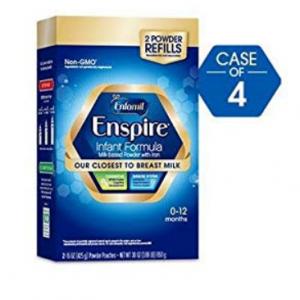 $20 off Enfamil Enspire Infant Formula -- 4 Refill Boxes @ Walmart