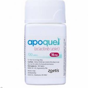 Apoquel (oclacitinib) 16 mg (100 tablets)