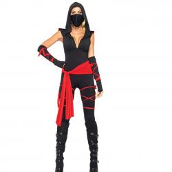 Leg Avenue Costumes 5 Piece Deadly Ninja Costume