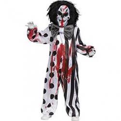 Fun World Bleeding Killer Clown Costume for Kids
