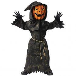 Big Boys' Bobble Eyes Pumpkin Costume