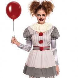 Leg Avenue Women's 2 PC Creepy Clown Costume