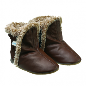 Robeez Classic Boots Brown 소프트 발바닥