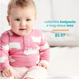 Carter's 官網 精選兒童寶寶服裝特惠,連體衣、睡衣等