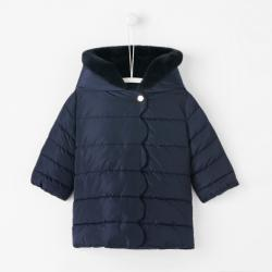 HOODED PUFFY COAT