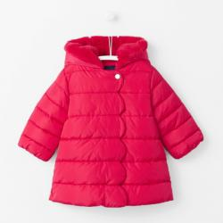 SCALLOPED PUFFY JACKET