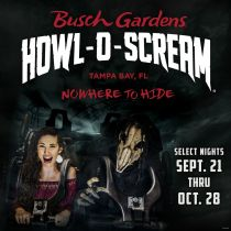 Howl-o-scream At Busch Gardens Tampa from $37