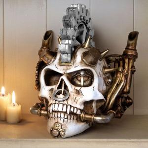 Steamhead Skull Steampunk Style