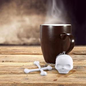 Skull Tea Infuser Creepy Steeping