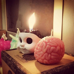 I GET BRAIN Candle & Candle holder Light up your brain