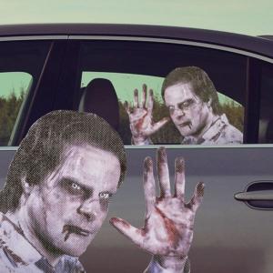 Ride With It Passenger Car Window Sticker