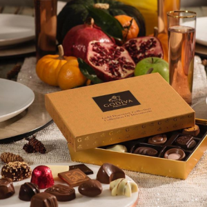 20% off $50+ or 25% off $75+ in store and online @ Godiva