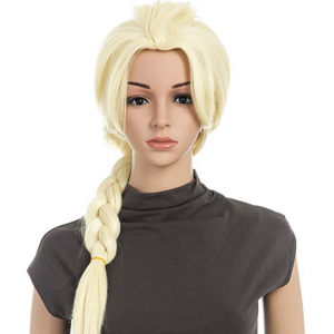 Womens Costume Halloween Party Cosplay emulation Scalp Full Head Wig