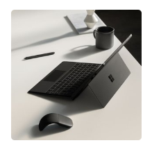 Surface Pro 6 平板电脑(i5, 8GB, 256GB) + 官方键盘保护壳套装 @ Microsoft Store