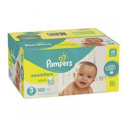 Pampers Swaddlers 尿不湿3号 168片