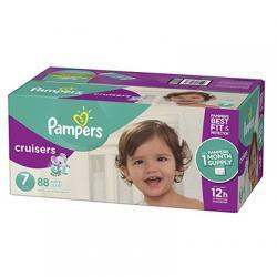 Pampers Cruisers 尿不湿7号 88片