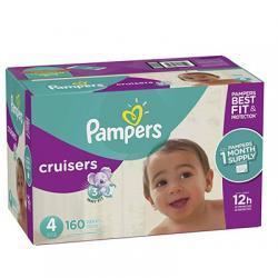 Pampers Cruisers 尿不湿4号 160片