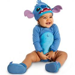 Stitch Costume Bodysuit Set for Baby - Personalizable
